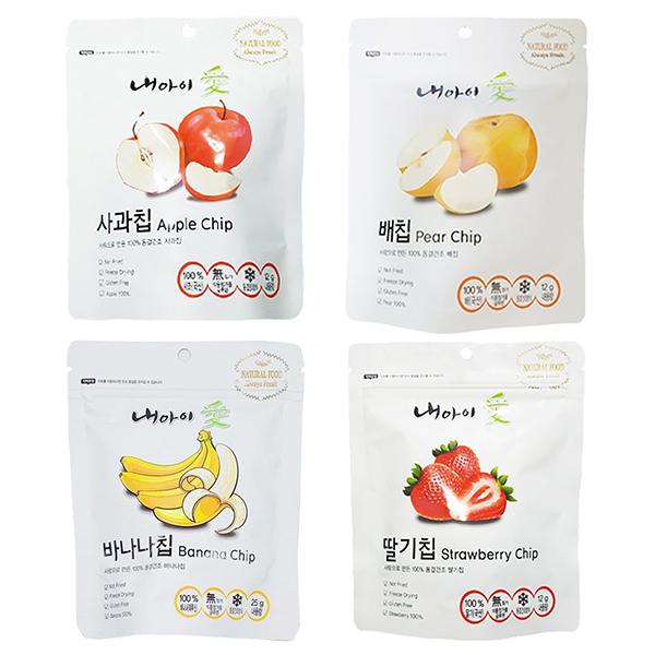 Naeiae韓國幼兒水果片