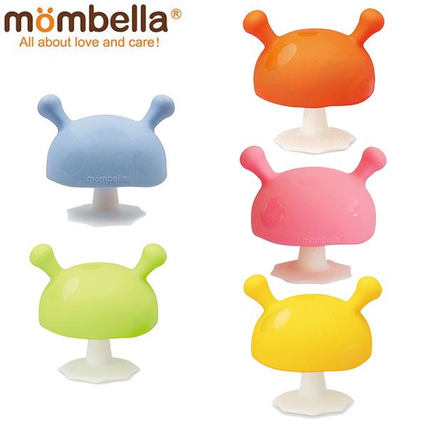 Mombella 英國Q比小蘑菇頭安撫固齒器