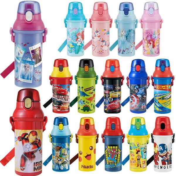 Skater直飲冷水壺480mL 兒童水壺,Skater,迪士尼水壺,不鏽鋼保溫瓶,保溫壺,卡通水壺,漫威水壺