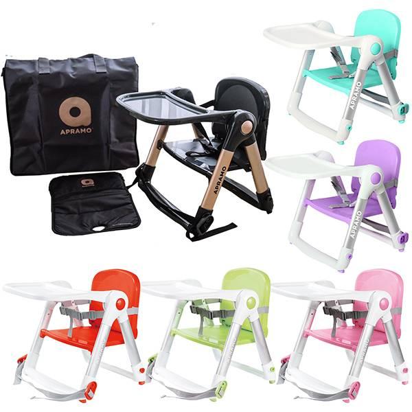 APRAMO FLIPPA 可攜式兩用兒童餐椅-魔法黑金典藏限量款