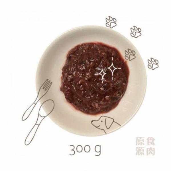 狗狗生肉餐300g 商生,生肉餐,生食,原食,源食,濕食,主食,原食源肉,鮮食
