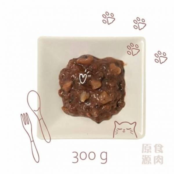 貓貓生肉餐300g 商生,生肉餐,生食,原食,源食,濕食,主食,原食源肉,鮮食