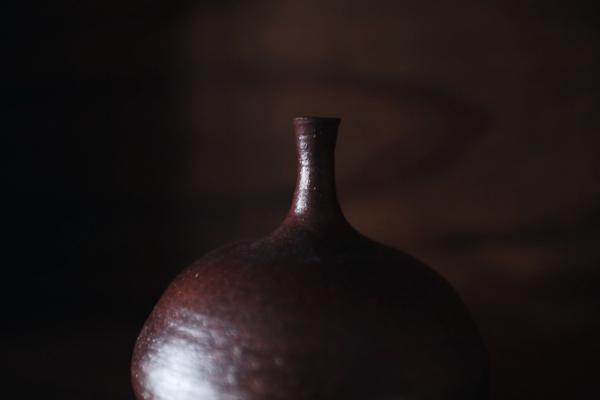 望氣 柴燒花瓶 D