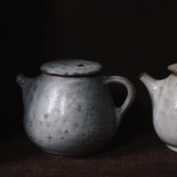 望氣   硯白茶壺