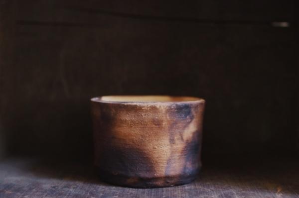 伏流物件|素燒煙燻陶器_1