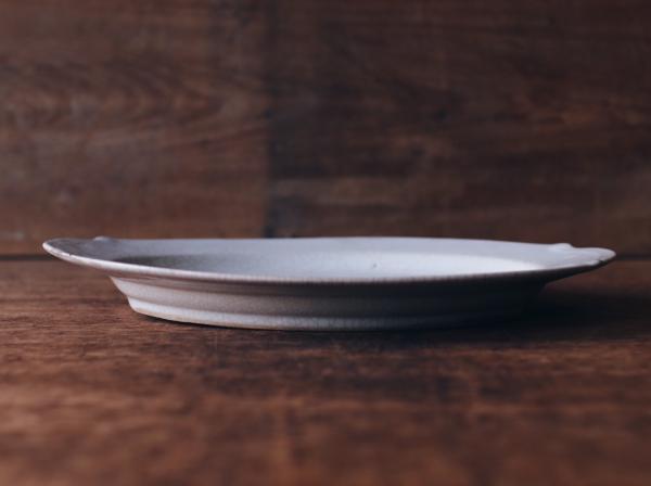 早期橢圓冰裂紋餐盤