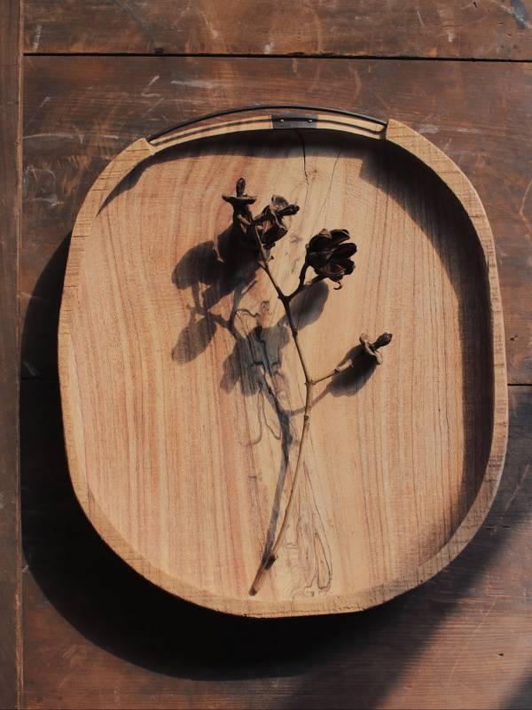 間作|黑鐵把苦楝木盤
