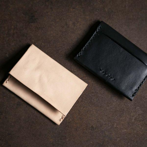 森林燦燦|皮件系列  分層卡夾(二色)