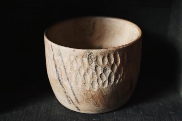 Jimmy wood 手刻木碗 柳安木