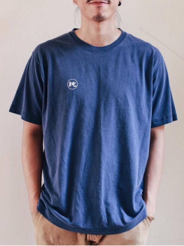 笑詼商行_獨家聯名限量 地衣荒物X香蘭男子電棒燙|【純】水洗布T-shirt