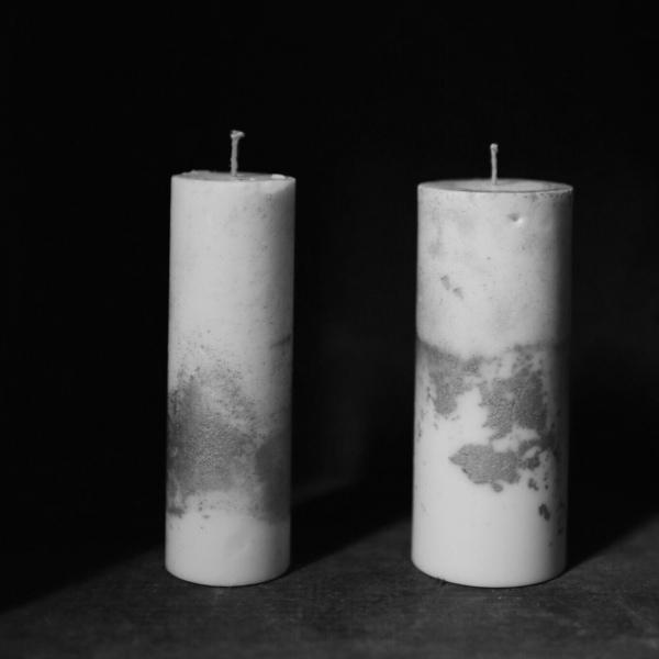 nag.19|Sekai 世界 香氛蠟燭_銀白(粗+細)