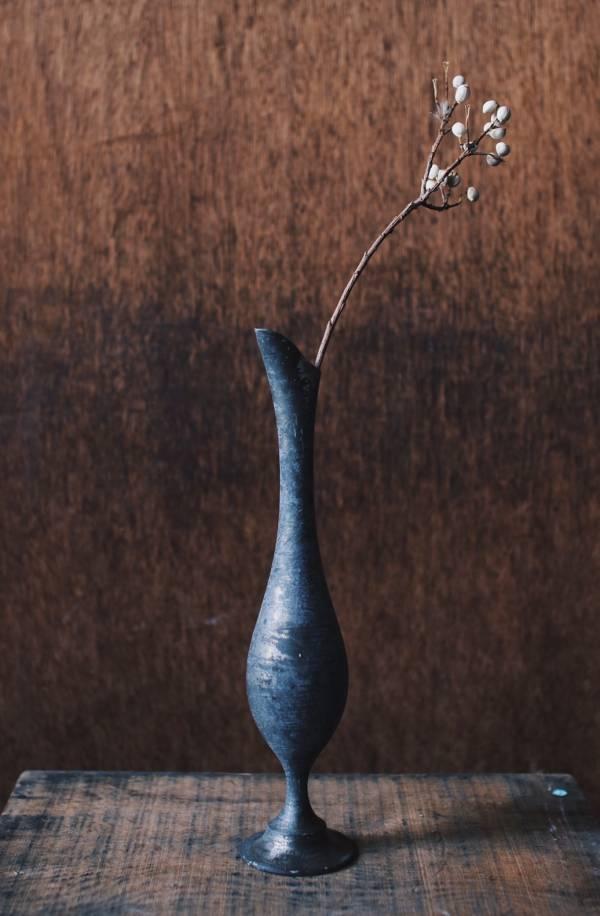 早期進口白鑞花瓶