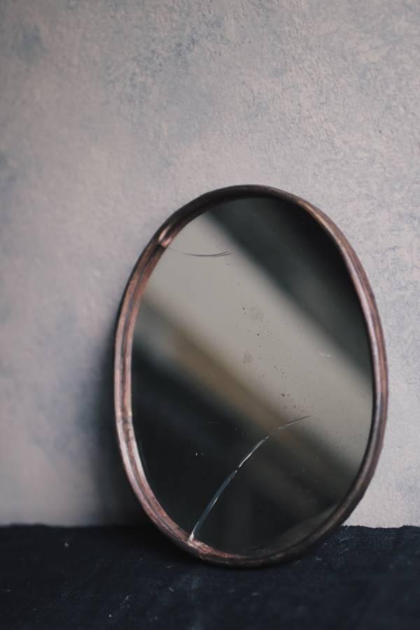 【時間選品】隙裏有光_紅銅掛鏡G