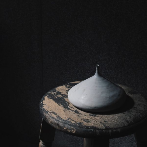 望氣 硯白 花器D