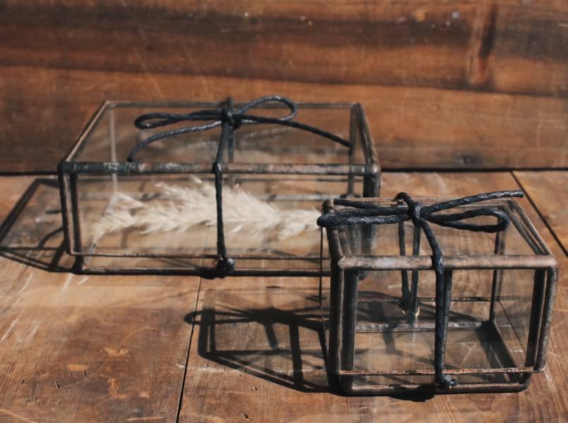 真真鑲嵌玻璃研究所 l 透明玻璃盒