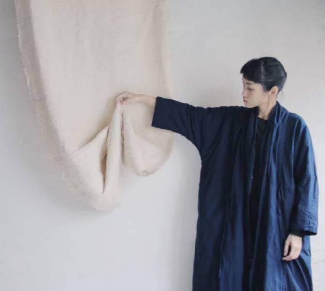 森林燦燦|服飾系列  藍染罩衫
