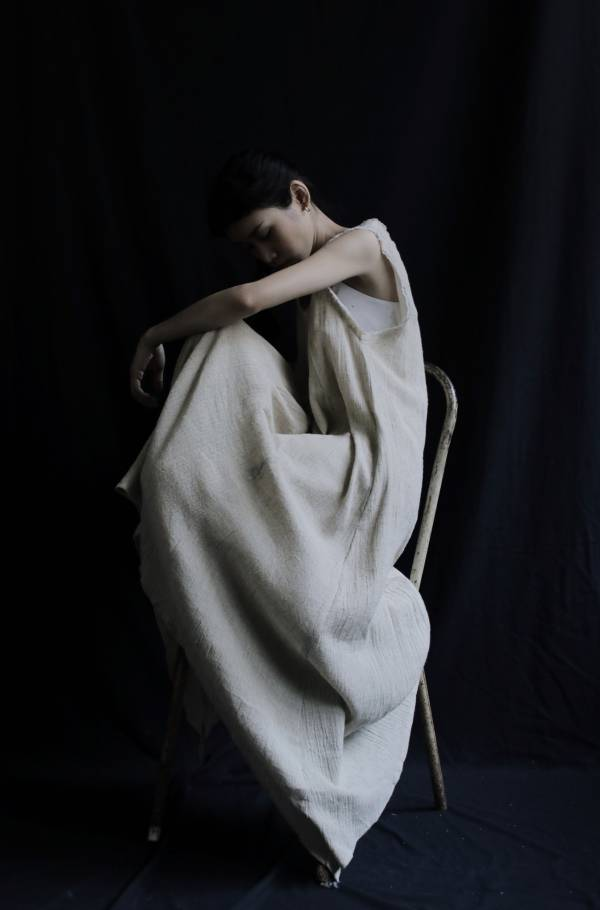 Sixth sense|背心洋裝_ 麻色