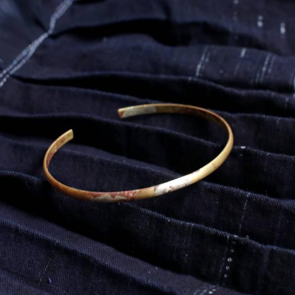 MUCAO | 蝕 solar eclipse系列:弧面黃銅C型單圈手環