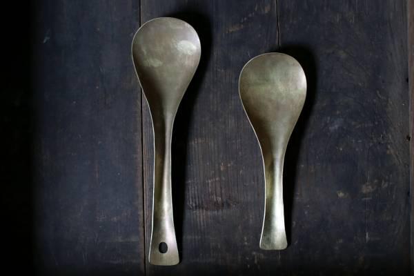 田中銅器_黃銅飯勺B09