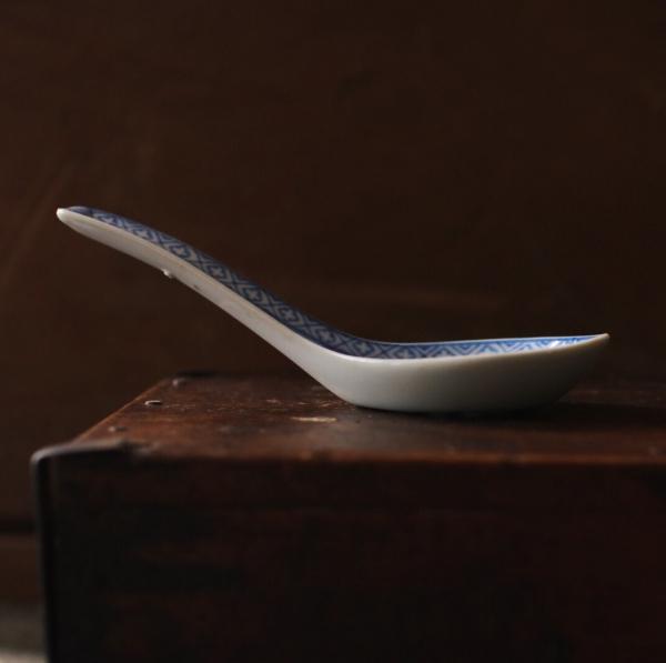早期透光玲瓏瓷湯匙