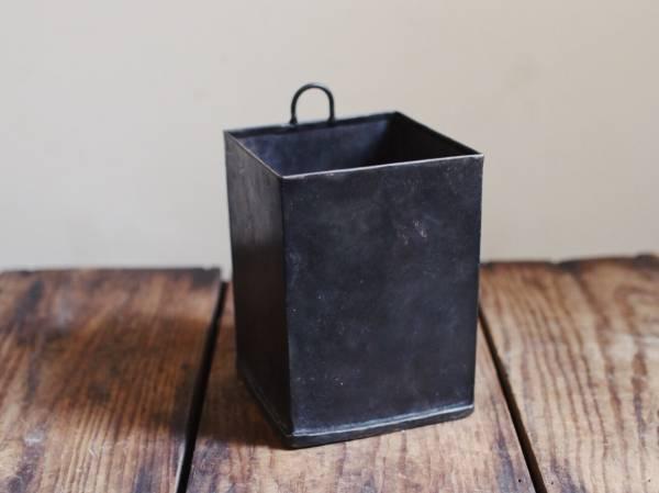 回收鐵再製黑鐵盒_方形吊掛