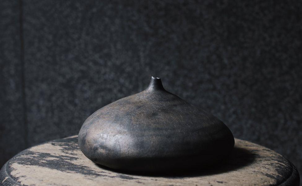 望氣|霧鐵|花器A