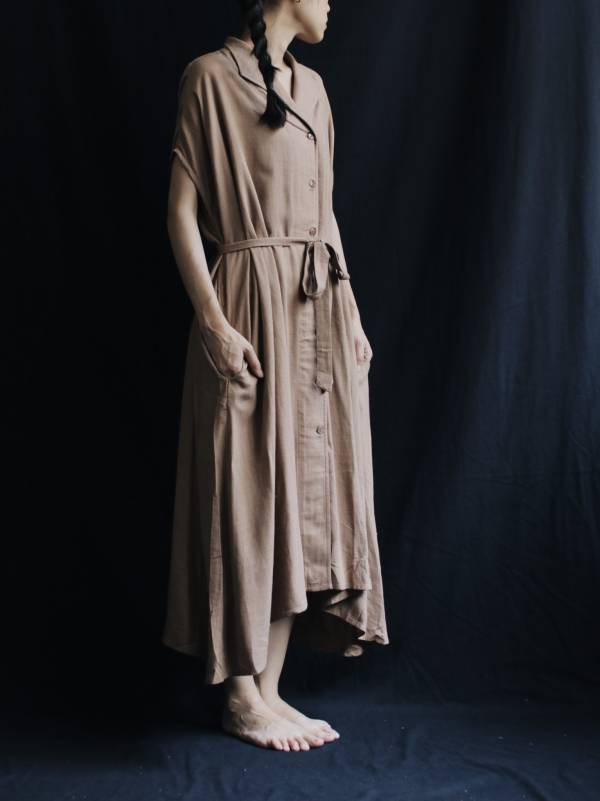 Sixth sense 寬版襯衫洋裝