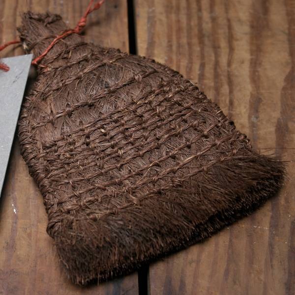 台灣老師傅手工編織棕刷