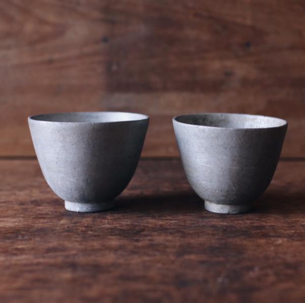 早期白鑞金屬小杯
