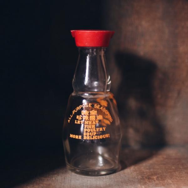 老玻璃醬油瓶