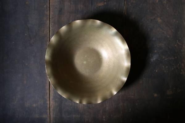 田中銅器_黃銅小折邊碗C22