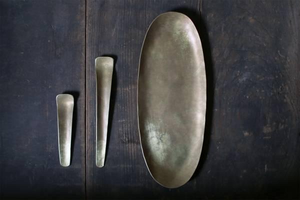 田中銅器_黃銅短勺B14