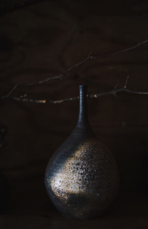 望氣 柴燒花瓶 B