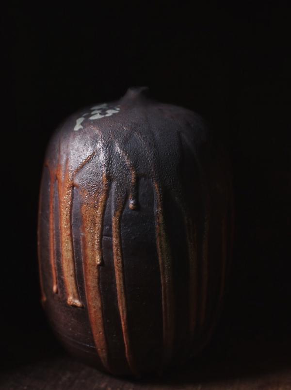 望氣 柴燒花瓶 E