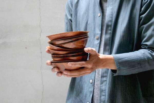 Formosa wood 木片碗 圓