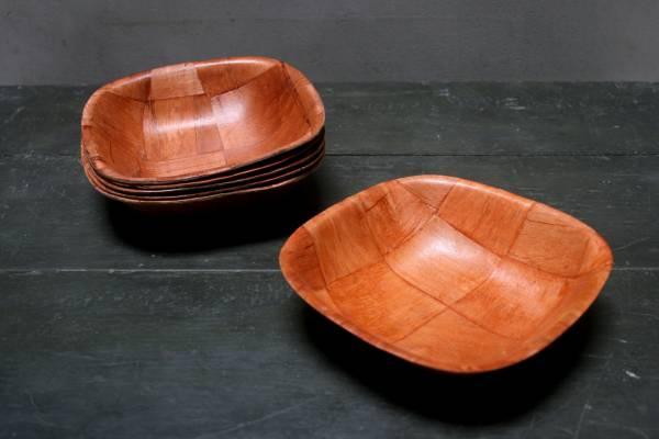 Formosa wood 木片碗 方