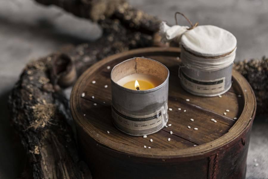 古物再製 限量早期米糕模具天然蠟燭杯