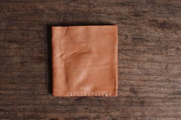 森林燦燦_植鞣皮革系列  短夾/原色