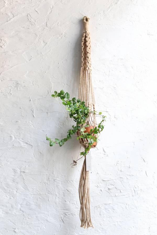 POET 編織盆栽掛飾-麻線