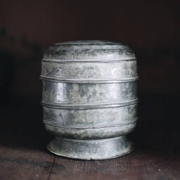 古董錫製珠寶盒_B 台灣古董