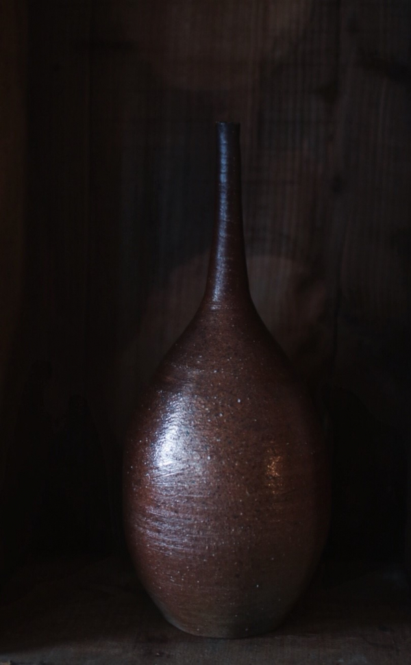 望氣 柴燒花瓶 A