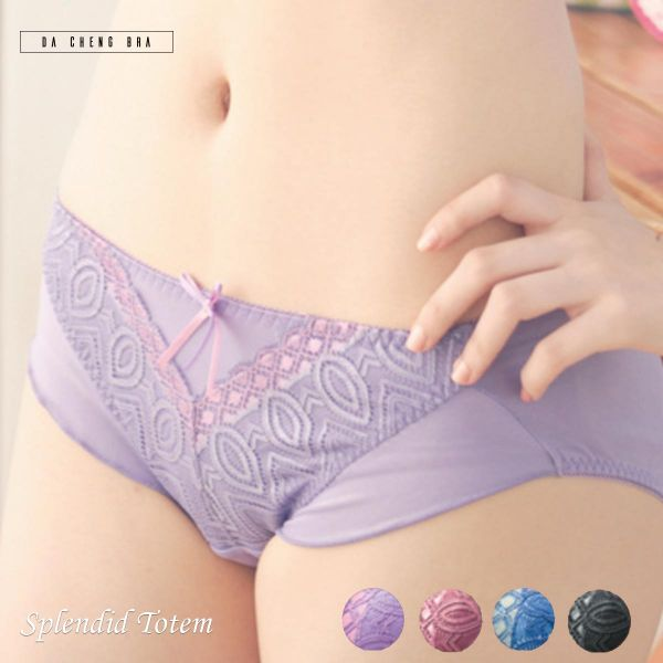 燦爛圖騰.蕾絲內褲 台灣第一品牌 台灣製內衣褲 平價品牌 好穿內衣