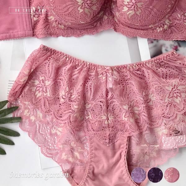 回憶花園.蕾絲內褲 台灣第一品牌 台灣製內衣褲 平價品牌 好穿內衣