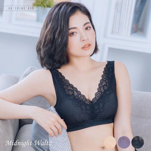 午夜華爾滋.蕾絲拉提無鋼圈內衣 台灣第一品牌 台灣製內衣褲 平價品牌 好穿內衣