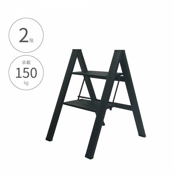 【二階 輕量鋁製家用踏板梯】2階梯 摺疊梯 人字梯 梯子 家用梯 A字梯 鋁製梯 【二階 輕量鋁製家用踏板梯】2階梯 摺疊梯 人字梯 梯子 家用梯 A字梯 鋁製梯
