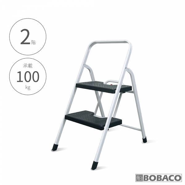 【二階寬踏板家用鐵梯】2階梯 鐵梯 安全摺疊梯 折疊防滑梯 梯子 樓梯椅 室內梯 【二階寬踏板家用鐵梯】2階梯 鐵梯 安全摺疊梯 折疊防滑梯 梯子 樓梯椅 室內梯