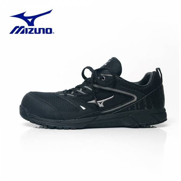 MIZUNO【織布透氣防護鞋VS-黑】F1GA201009 美津濃 安全鞋 塑鋼鞋 工作鞋 鋼頭鞋 防護鞋 塑鋼工作鞋 運動鞋 工作安全鞋 休閒鞋