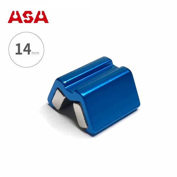 台灣製ASA【螺絲吸住器-14mm / 藍色】MSH14 增磁消磁器 固定器 六角起子頭 起子套筒 磁鐵螺絲吸住器 螺絲吸住器MSH14 增磁消磁器 固定器 六角起子頭 起子套筒 磁鐵螺絲吸住器