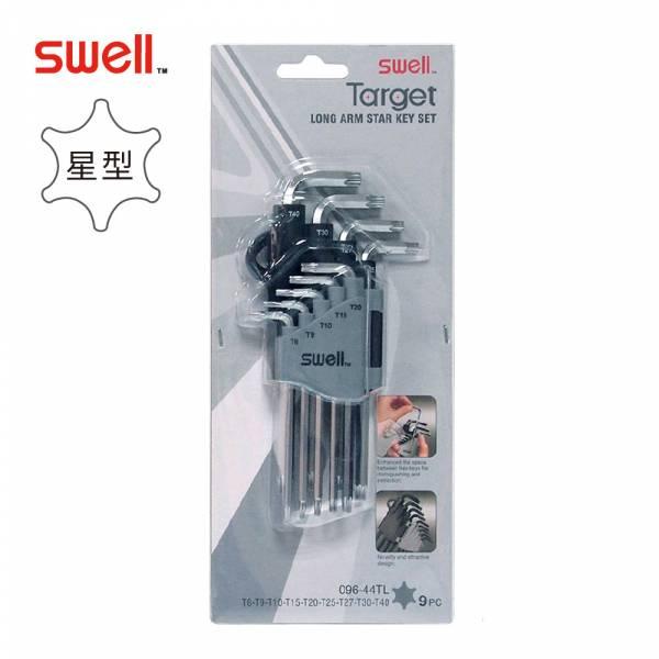 SWELL【星型實心六角扳手9支組】(T8-T40) SWELL【星型實心六角扳手9支組】(T8-T40)