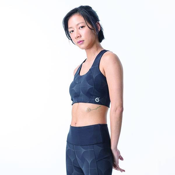 TA201212 反光印花可調式Bra  陳妤真心代言 百貨專櫃品牌 台灣製造,吸濕排汗,瑜珈,健身運動,顯瘦,提臀,高腰,彈力,重訓,速乾